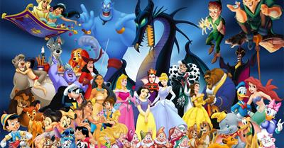 disney heroes how many do you recognise?