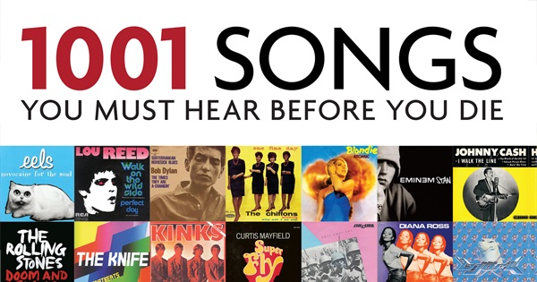 1001 Songs You Must Hear Before You Die 2015 Edition
