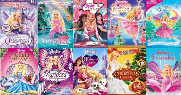 The Complete List Of Barbie Movies