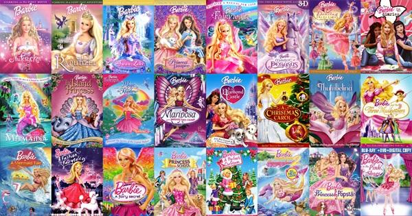 Complete List Of Barbie Movies