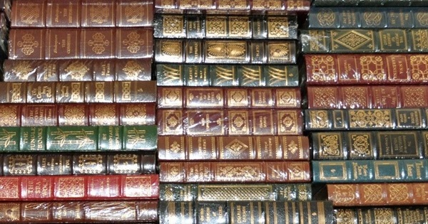 100 Greatest Books Ever Written Easton Press How Many Have You